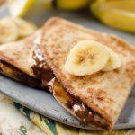 Tortilje banana i puter od badema