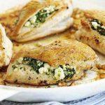 Piletina sa fetom i spanaćem