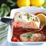 Bela riba u paradajz sosu