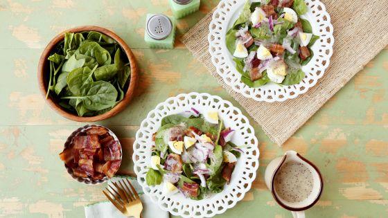 Salata sa spanaćem i jajima